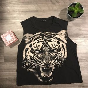 Urban Outfitters Tiger Top